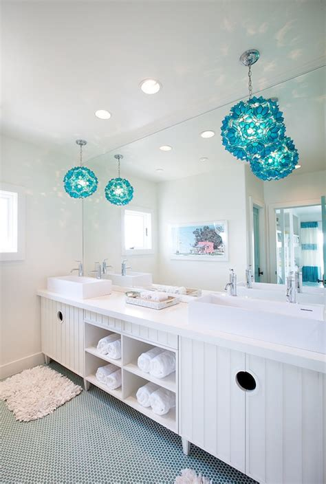 turquoise bathroom turquoise vanity contemporary bathroom dwell