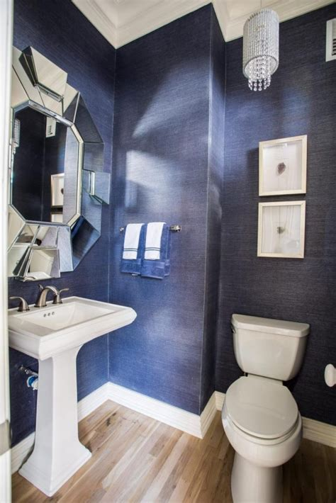 16 half bathrooms that are both stylish and functional