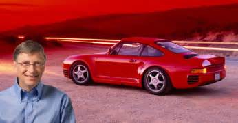 Bill Gates Porsche Bill Gates America S Richest And His Porsche 959