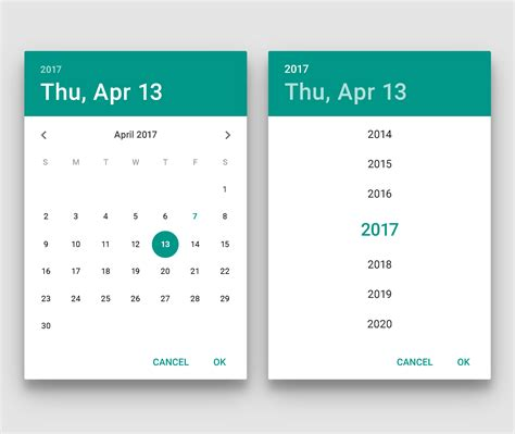 material design calendar android github md date time picker