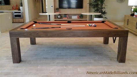 best home pool table modern pool tables walnut