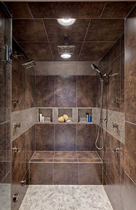 Bathroom Tile Design Patterns tile shower designs in marble and granite types represent