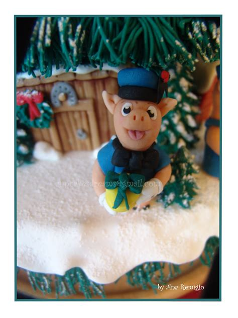a christmas story cake my magical cake my story cake cakecentral