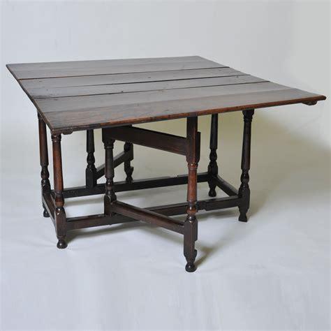18th century square oak gateleg dining table elaine
