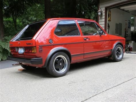 volkswagen rabbit original owner 1983 volkswagen rabbit gti bring a trailer