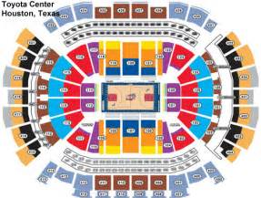 Toyota Center Number Popular Images Toyota Center Seating Chart