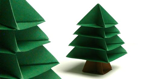 modulares origami tannenbaum christmas tree my crafts