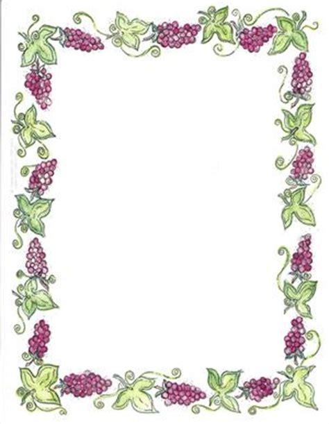 george cornici border design paper shabbat grapes 50 sheets