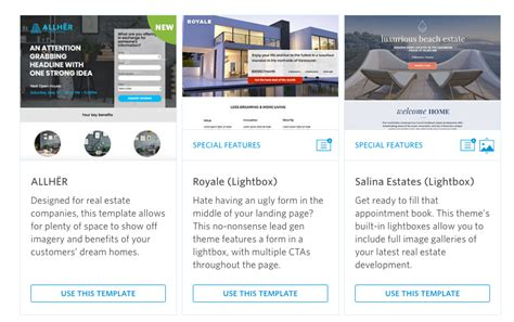 15 Real Estate Marketing Ideas To Win Clients On Social Sprout Social Real Estate Landing Page Templates