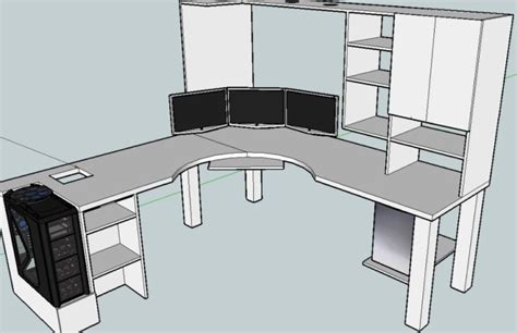 diy computer desk designs 20 top diy computer desk plans that really work for your home office