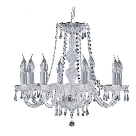 Lighting Chandeliers Traditional Hale Traditional 8 Light Chrome And Chandelier Light