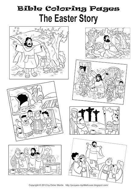 coloring pages of easter story my house the easter story and easter coloring pages