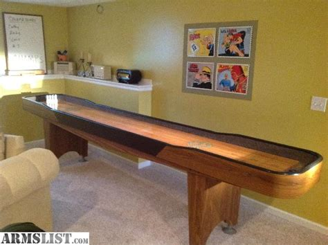 shuffleboard table for sale armslist for sale trade chion 12 shuffleboard table
