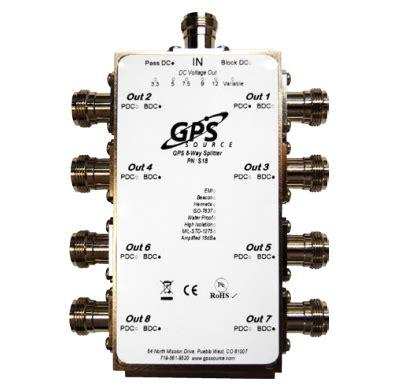 gps 1x8 standard splitter s18 gps source