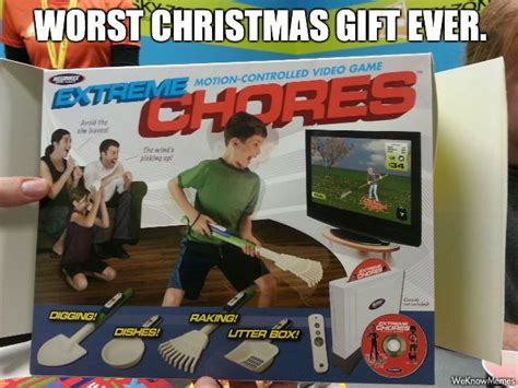 worst christmas gift ever memes pinterest
