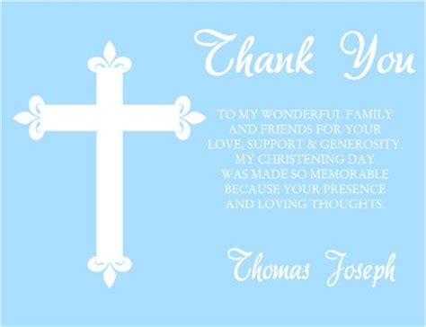 Thank You Letter For Confirmation Baptism Communion Confirmation Thank You Card Cross Background Color Can Be Changed