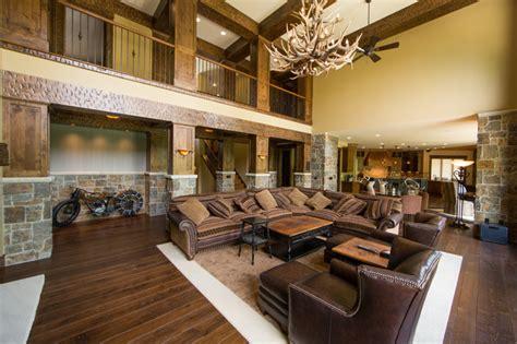 Livingroom Theater Boca by Modern Rustic