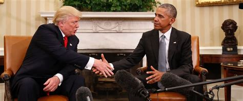 president trump oval office no president obama has not said he is refusing to leave