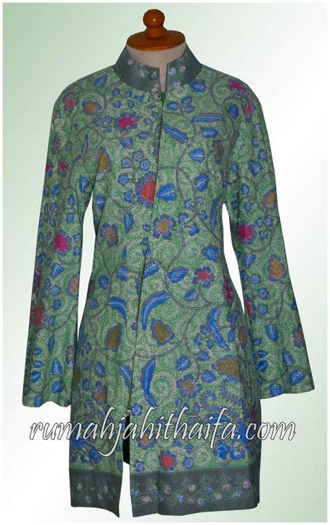 Baju Batik Blouse Amara 05 vuring rumah jahit haifa