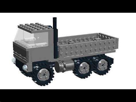 tutorial armi lego lego army cargo truck tutorial how to build military moc