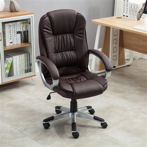 high back executive pu leather ergonomic office desk computer chair executive high back pu leather computer desk ergonomic