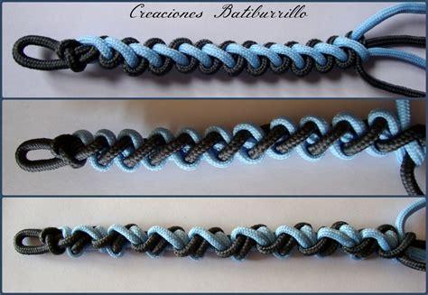 pulseras nudos creaciones batiburrillo pulseras de nudo rizado y variantes