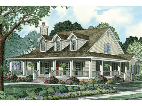 Country Style House Plans With Wrap Around Porches Country House Plans Country Style House Plans With Wrap Around Porches Southern Style