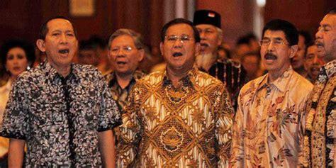 Prabowo Bondan prabowo diusir dari cendana karena dianggap khianati