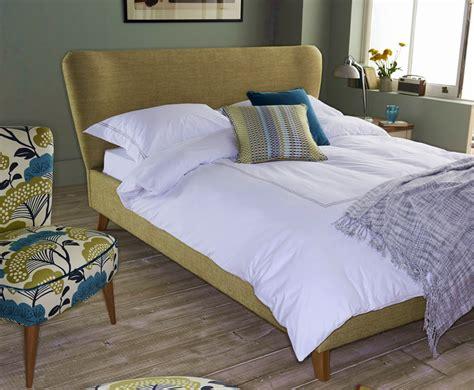 Carnaby Upholstered Retro Bed Frame Retro Bed Frames