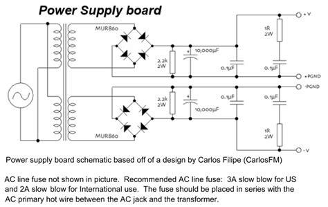 power supply bleeder resistor lifier gainclone iiaart