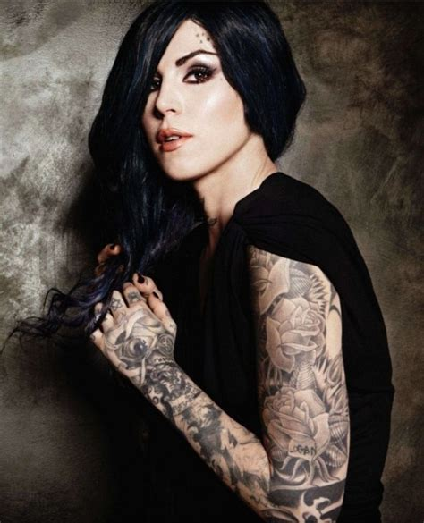 kat von d tattoos on her body tattooed top 10 alux