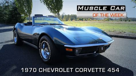how do i learn about cars 1970 chevrolet camaro instrument cluster muscle car of the week video episode 174 1970 chevrolet corvette 454 roadster youtube