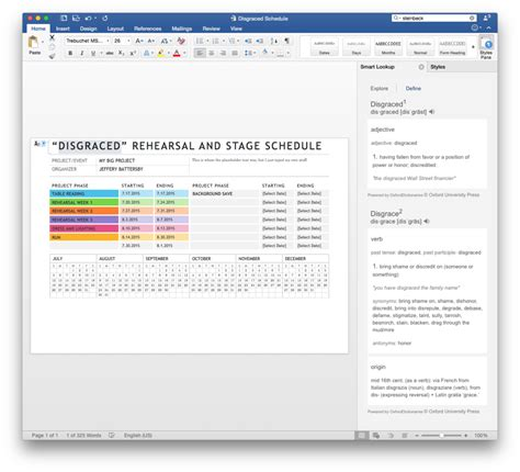 Word Lookup Microsoft Word 2016 Review Finally Much Needed Updates Make For A Better Word Macworld