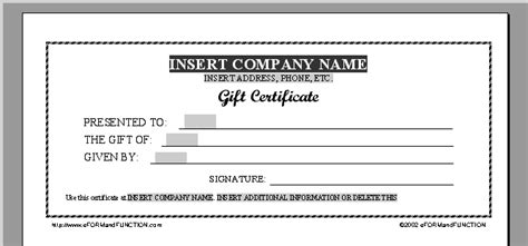 Printable Gift Certificate Template Cool Trials Ireland Free Gift Certificate Template Printable