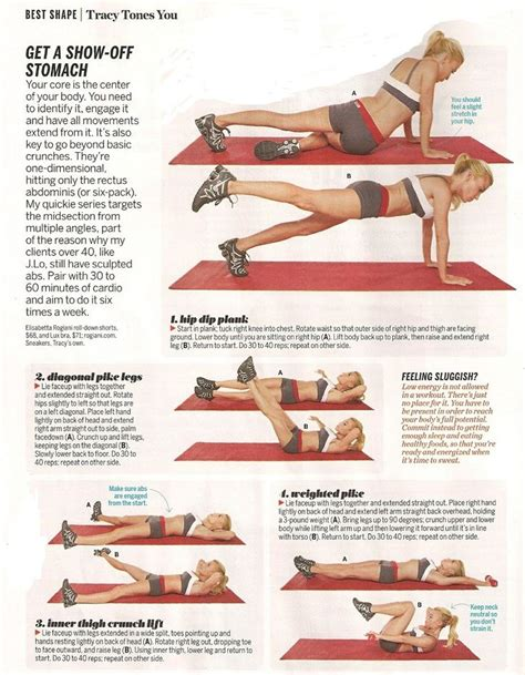 1000 images about abdominal exercises on side plank mountain climbers and oblique