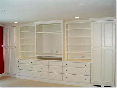 built in bedroom wall units custom bookcase and wall units