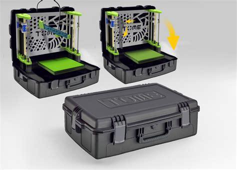 mobile porm tome l imprimante 3d portable autonome