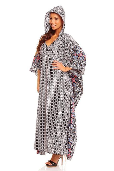 Ghislaine Ethnic Kaftan Maxi Dress length hooded ethnic maxi kaftan dubai abaya dress plus size 18 28 ebay