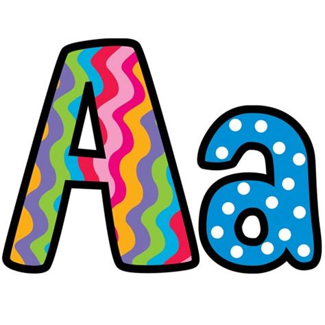 free printable alphabet letters for classroom display poppin patterns alphabet display letters