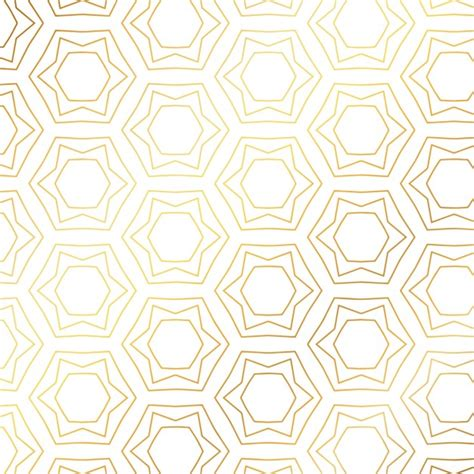 gold pattern graphic gold pattern with hexagons vector free download