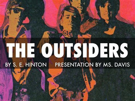 themes in the book the outsiders by se hinton outsiders book project by karen davis