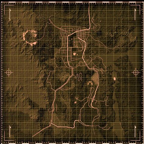 new vegas map fallout new vegas map images