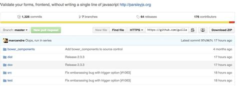 parsley pattern js bug in parsley js 2 3 2 can cause browser to freeze stickee