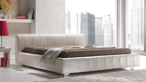 bed with low headboard quarrata capri low rise headboard genuine italian leather