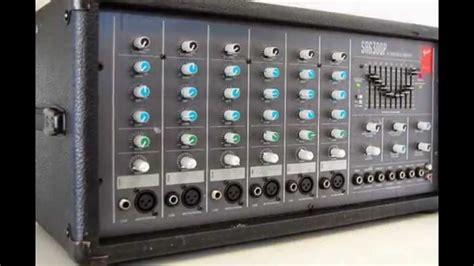 Mixer Audio Toa mixer lifier