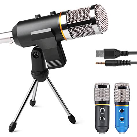 Speaker Fleco F K39 Wired Mic With Usb Tf Card Pla Limited aliexpress buy mk f200tl professional microphone usb condenser microphone for