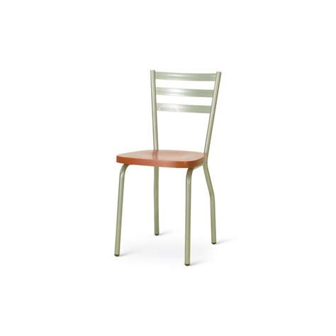 sedie ciliegio sedia in metallo verniciato e alluminio con seduta laccata