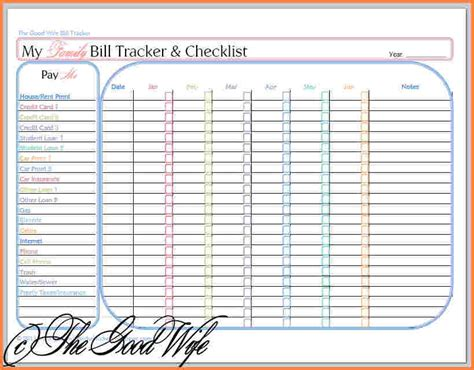5 Bills Budget Spreadsheet Excel Spreadsheets Group Monthly Bill Budget Template