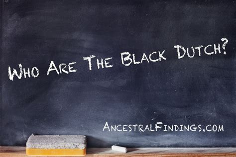 Who Are The Who Are The Black Ancestralfindings