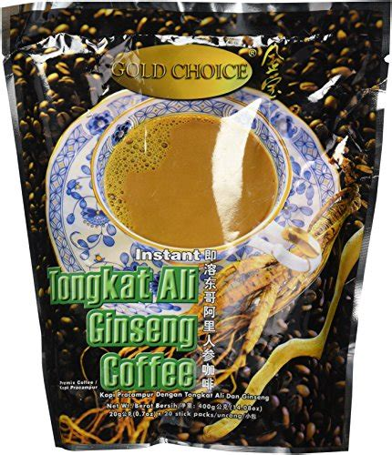 Tongkat Ali Ginseng Coffee gold choice instant tongkat ali ginseng coffee wantitall